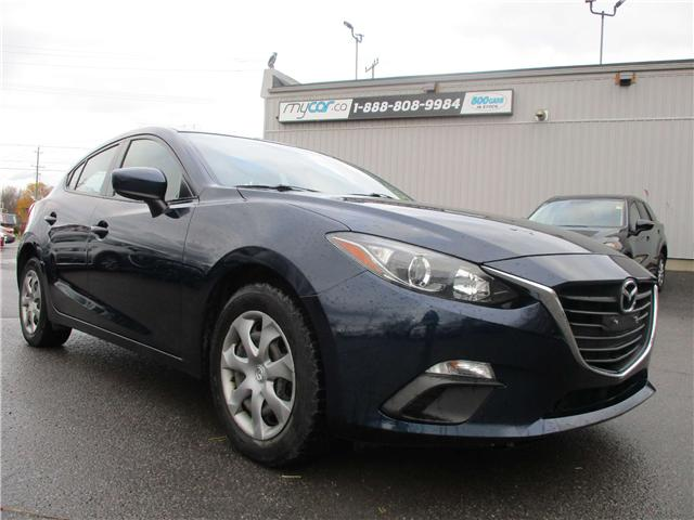 2015 Mazda Mazda3 GX (Stk: 181737) in Kingston - Image 1 of 12