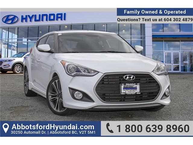 2017 Hyundai Veloster Turbo (Stk: AH8754) in Abbotsford - Image 1 of 29