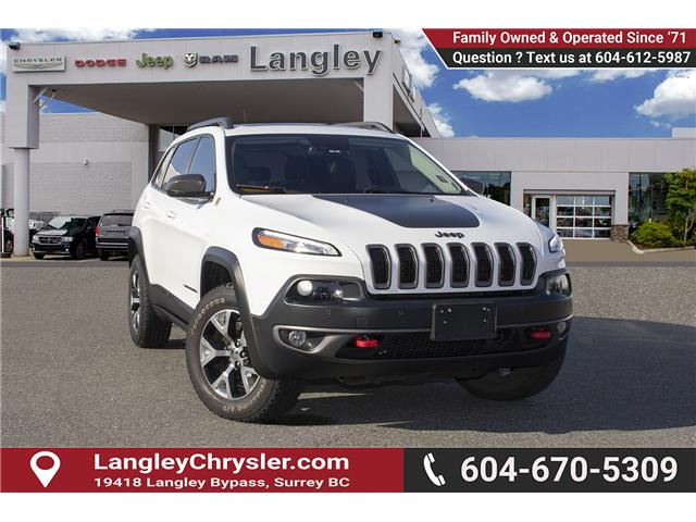 2015 Jeep Cherokee Trailhawk (Stk: EE898760A) in Surrey - Image 1 of 25