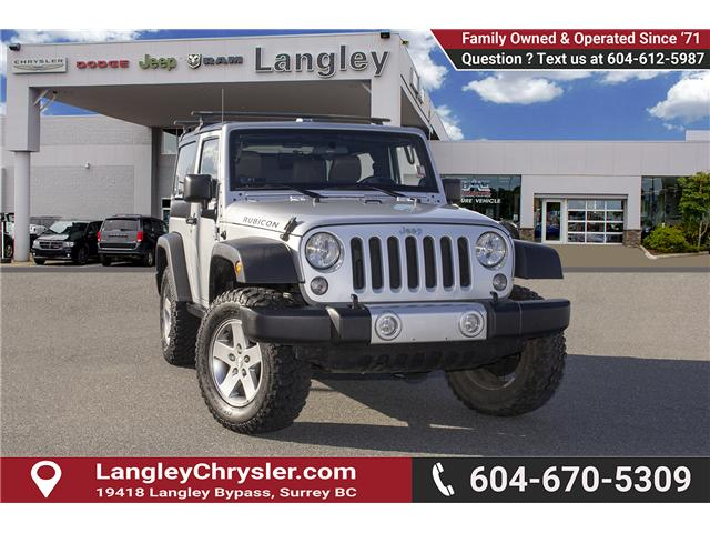 2012 Jeep Wrangler Rubicon (Stk: EE899120) in Surrey - Image 1 of 19