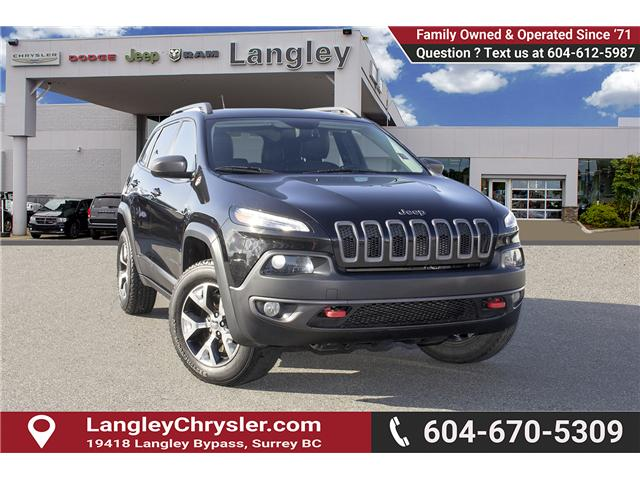 2015 Jeep Cherokee Trailhawk (Stk: K277447A) in Surrey - Image 1 of 20