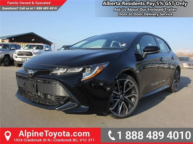 2019 Toyota Corolla Hatchback SE Upgrade Package (Stk: 3005101) in Cranbrook - Image 1 of 17