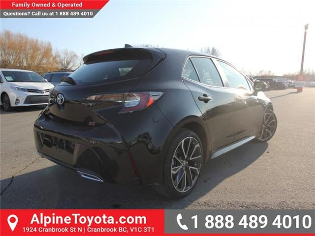 2019 Toyota Corolla Hatchback SE Upgrade Package (Stk: 3005101) in Cranbrook - Image 5 of 17