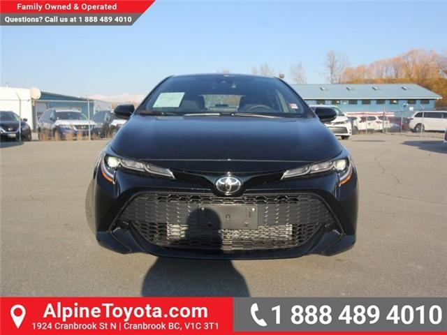 2019 Toyota Corolla Hatchback SE Upgrade Package (Stk: 3005101) in Cranbrook - Image 8 of 17