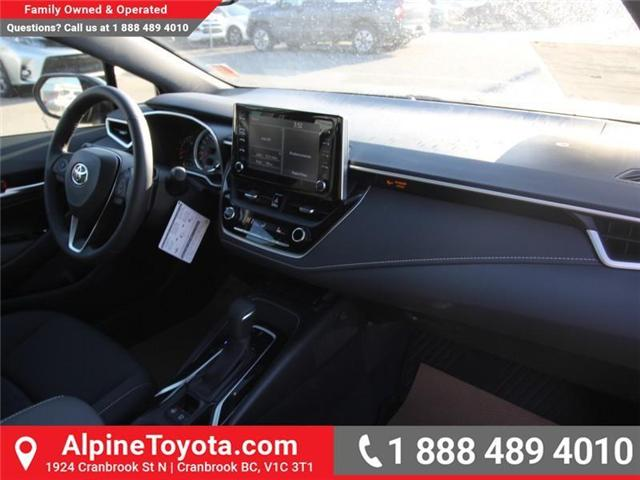 2019 Toyota Corolla Hatchback SE Upgrade Package (Stk: 3005101) in Cranbrook - Image 11 of 17