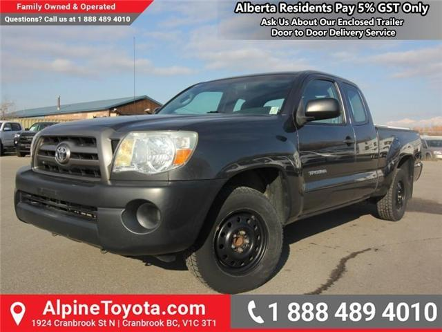 2010 Toyota Tacoma Base (Stk: Z683829N) in Cranbrook - Image 1 of 15
