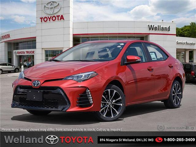 2019 Toyota Corolla SE Upgrade Package (Stk: COR6219) in Welland - Image 1 of 23