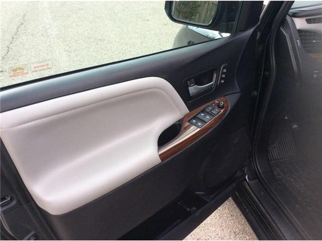 2017 Toyota Sienna XLE 7 Passenger (Stk: sie6051b) in Welland - Image 17 of 26