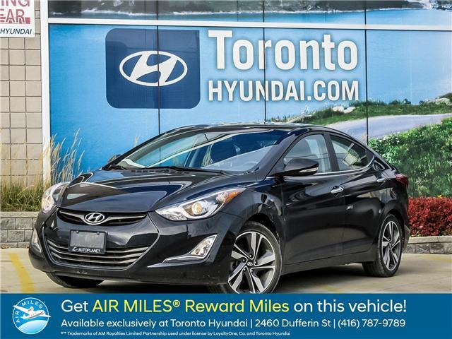 2015 Hyundai Elantra Limited (Stk: U06328) in Toronto - Image 1 of 1