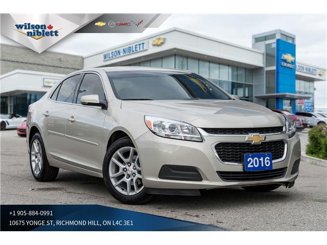 2016 Chevrolet Malibu Limited LT (Stk: U106565) in Richmond Hill - Image 1 of 18