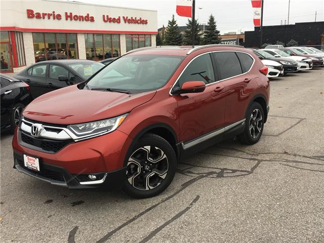 2017 Honda CR-V Touring (Stk: 17889) in Barrie - Image 1 of 16