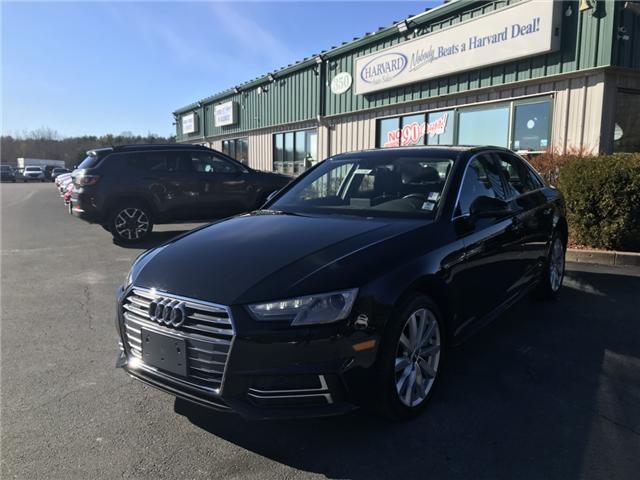 2018 Audi A4 2.0T Komfort (Stk: 10188) in Lower Sackville - Image 1 of 18