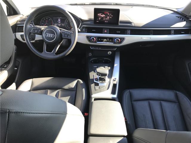 2018 Audi A4 2.0T Komfort (Stk: 10188) in Lower Sackville - Image 11 of 18