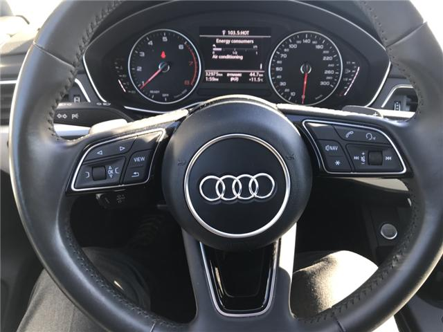 2018 Audi A4 2.0T Komfort (Stk: 10188) in Lower Sackville - Image 14 of 18