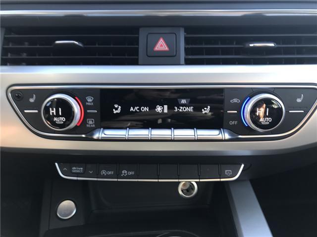 2018 Audi A4 2.0T Komfort (Stk: 10188) in Lower Sackville - Image 16 of 18