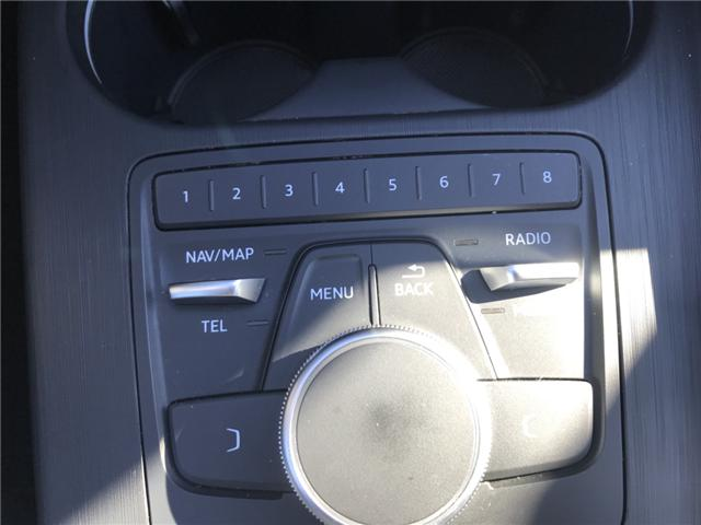 2018 Audi A4 2.0T Komfort (Stk: 10188) in Lower Sackville - Image 17 of 18