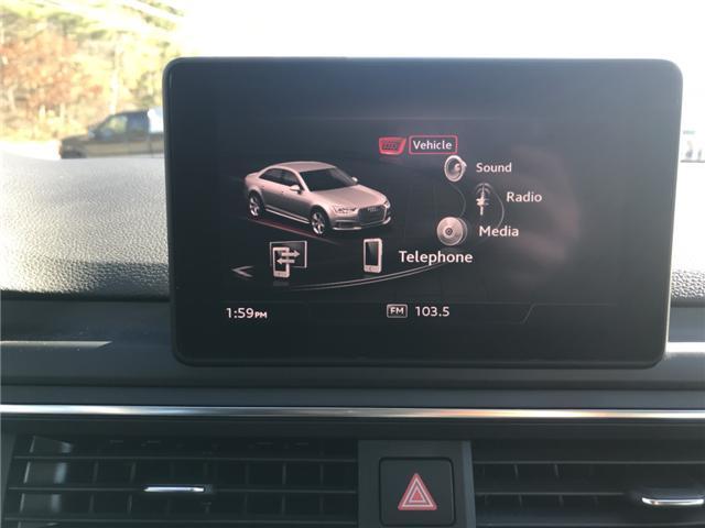 2018 Audi A4 2.0T Komfort (Stk: 10188) in Lower Sackville - Image 18 of 18