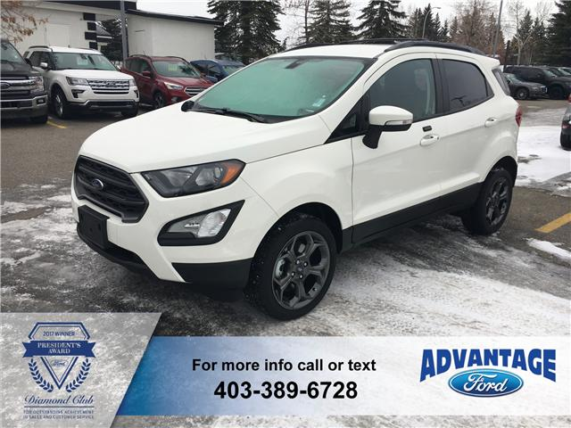 2018 Ford EcoSport SES (Stk: J-2010) in Calgary - Image 1 of 6