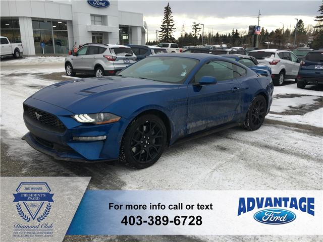 2018 Ford Mustang EcoBoost (Stk: J-2018) in Calgary - Image 1 of 6