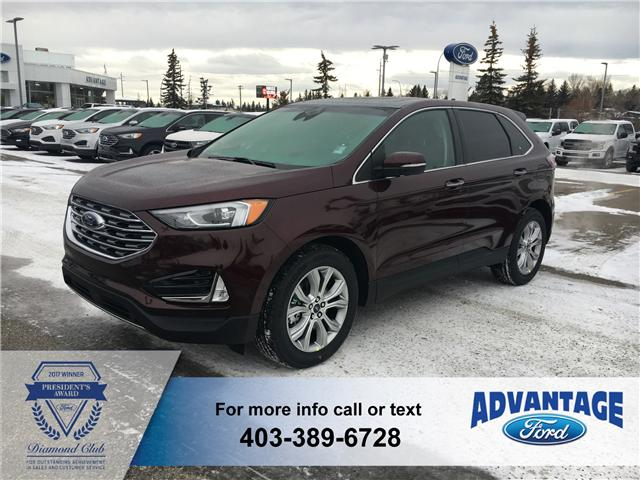 2019 Ford Edge Titanium (Stk: K-105) in Calgary - Image 1 of 6