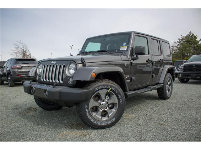 2018 Jeep Wrangler JK Unlimited Sahara (Stk: AG0743B) in Abbotsford - Image 2 of 23