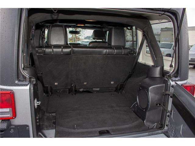2013 Jeep Wrangler Unlimited Sahara (Stk: H693311A) in Surrey - Image 7 of 23