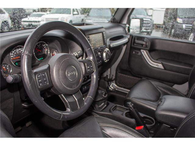 2013 Jeep Wrangler Unlimited Sahara (Stk: H693311A) in Surrey - Image 9 of 23