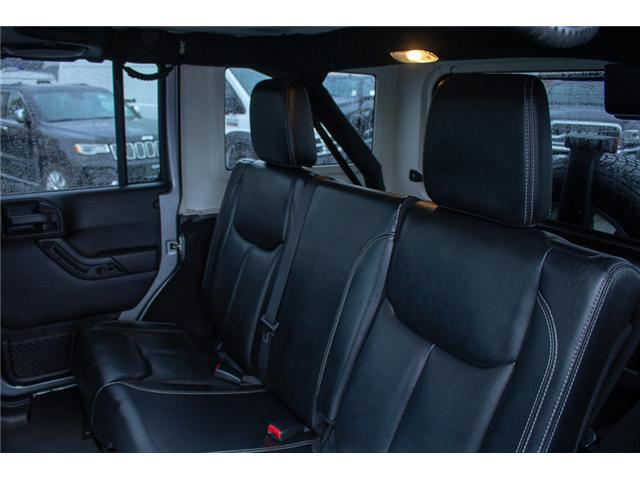 2013 Jeep Wrangler Unlimited Sahara (Stk: H693311A) in Surrey - Image 10 of 23