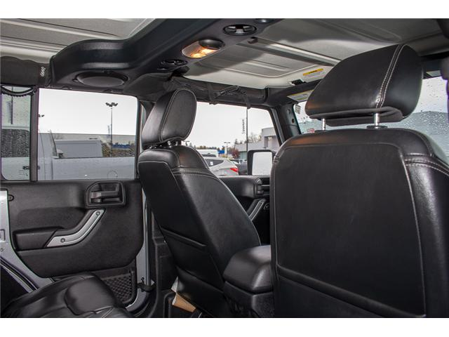 2013 Jeep Wrangler Unlimited Sahara (Stk: H693311A) in Surrey - Image 13 of 23