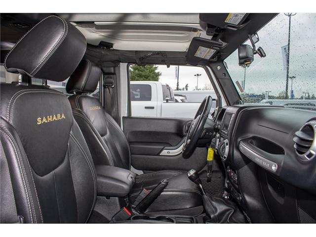 2013 Jeep Wrangler Unlimited Sahara (Stk: H693311A) in Surrey - Image 15 of 23