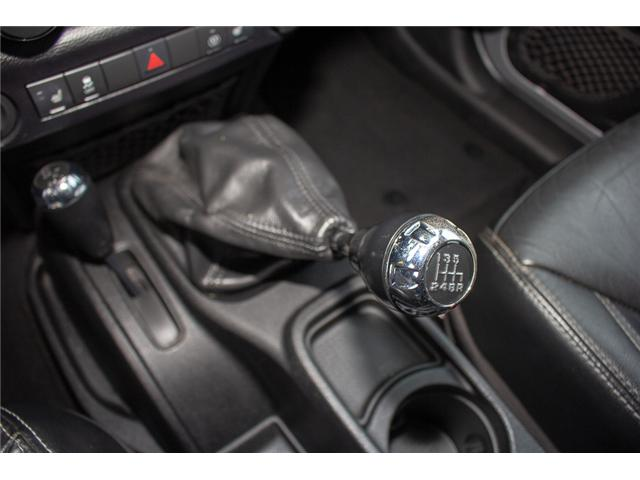 2013 Jeep Wrangler Unlimited Sahara (Stk: H693311A) in Surrey - Image 21 of 23
