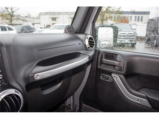 2013 Jeep Wrangler Unlimited Sahara (Stk: H693311A) in Surrey - Image 22 of 23