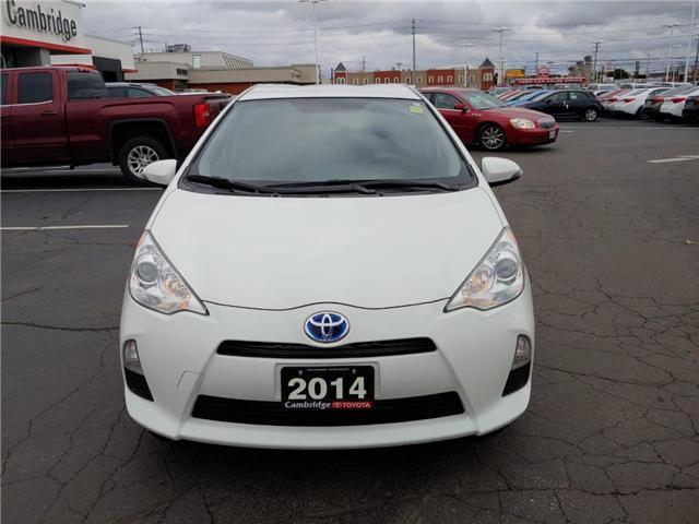2014 Toyota Prius C  (Stk: 1811651) in Cambridge - Image 3 of 13
