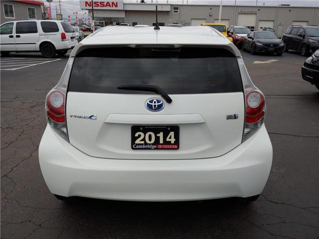 2014 Toyota Prius C  (Stk: 1811651) in Cambridge - Image 8 of 13