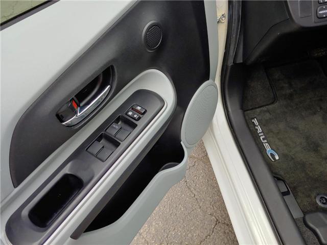 2014 Toyota Prius C  (Stk: 1811651) in Cambridge - Image 11 of 13