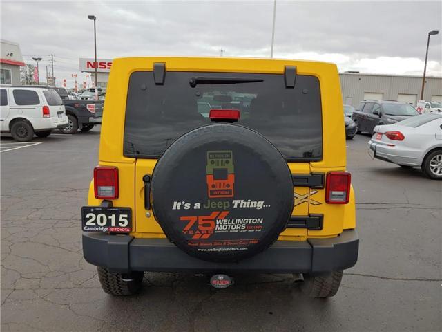 2015 Jeep Wrangler Unlimited Sahara (Stk: 1900721) in Cambridge - Image 7 of 13