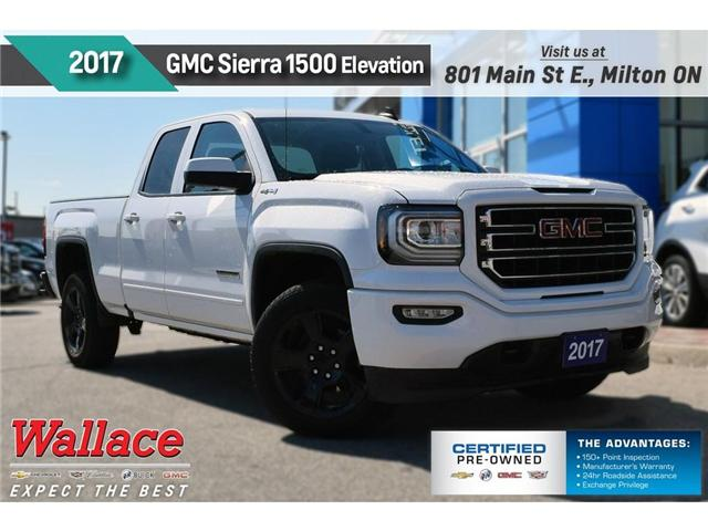 2017 GMC Sierra 1500 REDUCED PRICED TO SELL/ELEVATION EDTN/4X4/20s (Stk: 182534B) in Milton - Image 1 of 18