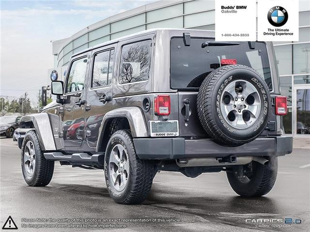 2017 Jeep Wrangler Unlimited Sahara (Stk: T675077A) in Oakville - Image 4 of 23