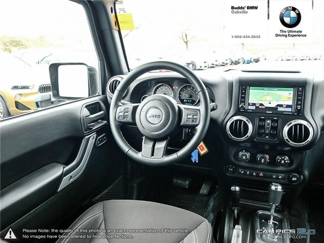 2017 Jeep Wrangler Unlimited Sahara (Stk: T675077A) in Oakville - Image 6 of 23