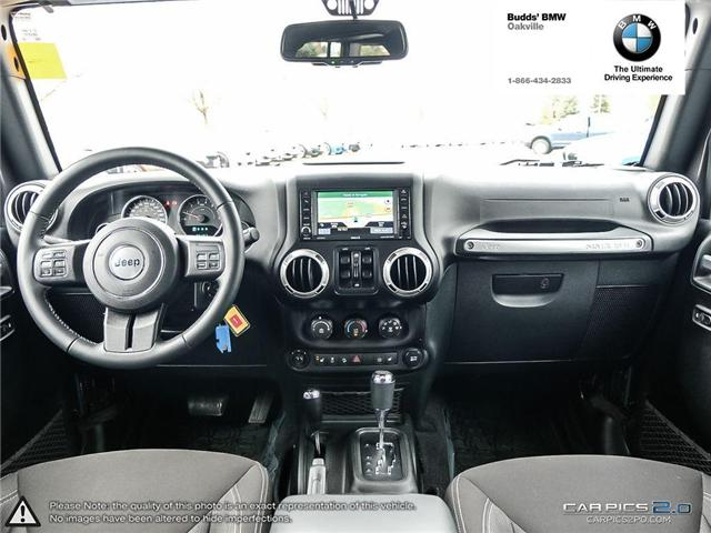 2017 Jeep Wrangler Unlimited Sahara (Stk: T675077A) in Oakville - Image 7 of 23