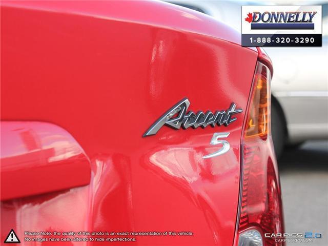 2006 Hyundai Accent 5 Base (Stk: PBWDU5888A) in Ottawa - Image 12 of 29