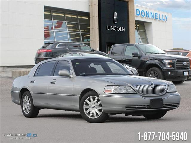 2008 Lincoln Town Car Signature Limited (Stk: PBWDUR5761A) in Ottawa - Image 1 of 27