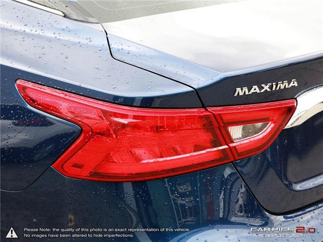 2018 Nissan Maxima SL (Stk: P7133) in Etobicoke - Image 11 of 26