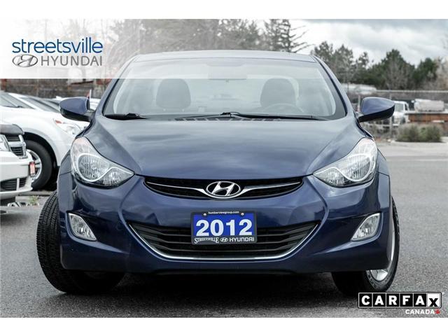 2012 Hyundai Elantra  (Stk: 18TU041A) in Mississauga - Image 2 of 21