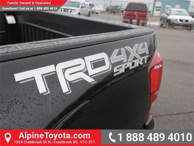 2019 Toyota Tacoma SR5 V6 (Stk: X038848) in Cranbrook - Image 16 of 22