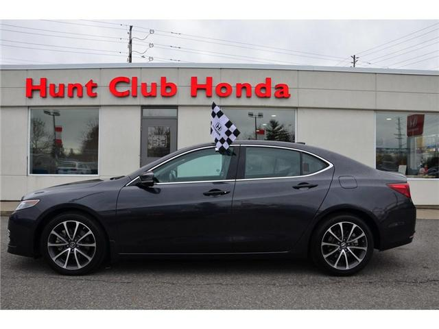2015 Acura TLX V6 Elite (Stk: Y00933A) in Gloucester - Image 1 of 27