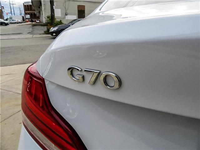 2019 Genesis G70 2.0T Prestige (Stk: U06093) in Toronto - Image 15 of 23
