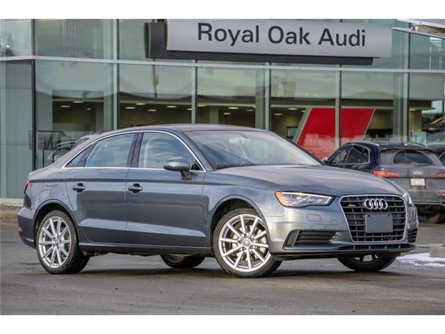 2015 Audi A3 2.0T Progressiv (Stk: U0721) in Calgary - Image 1 of 8