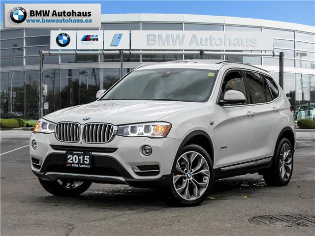 2015 BMW X3 xDrive28i (Stk: P8609) in Thornhill - Image 1 of 19