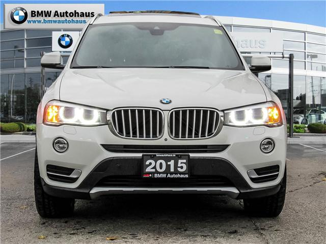 2015 BMW X3 xDrive28i (Stk: P8609) in Thornhill - Image 2 of 19